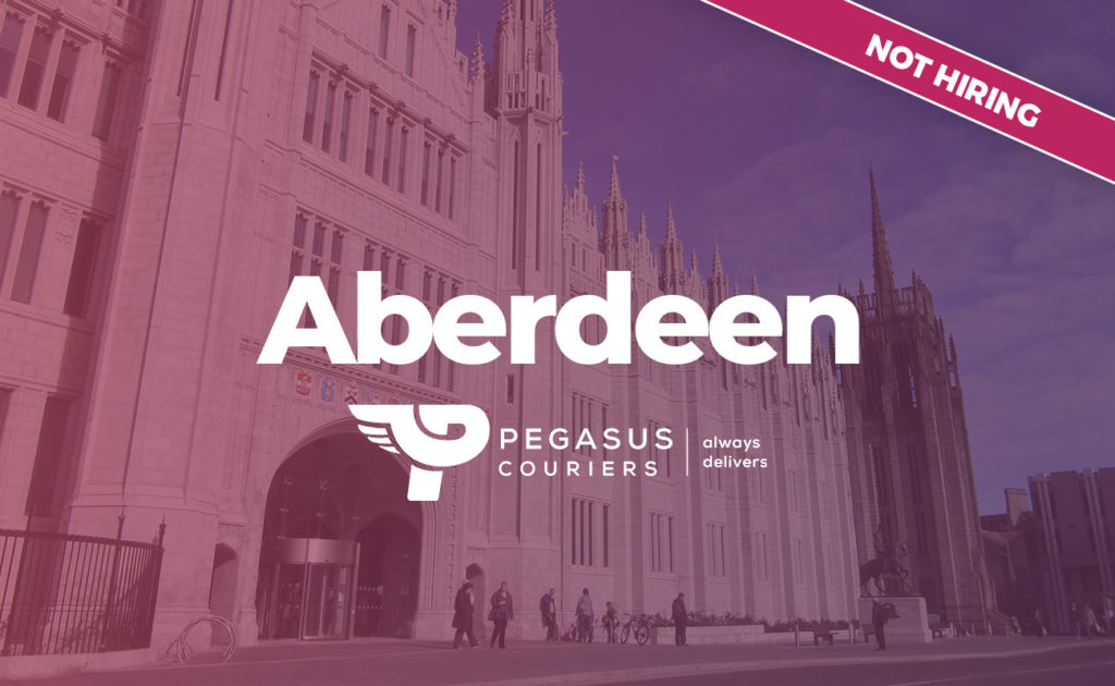 Aberdeen delivery driver courier job