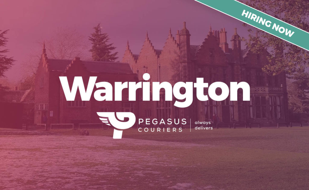 Warrington delivery driver job