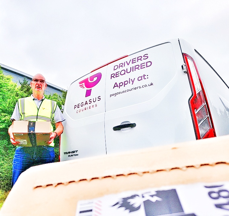 Pegasus Couriers delivery driver job
