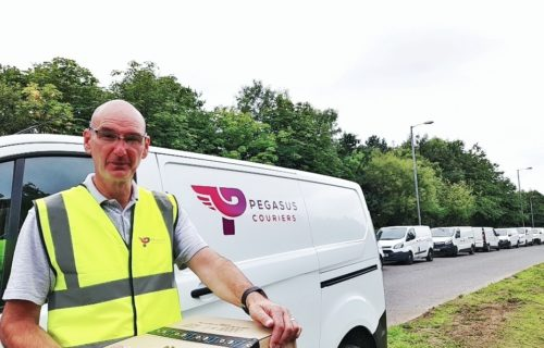 Courier driver jobs